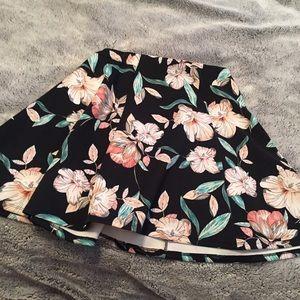Floral Circle Skater Skirt